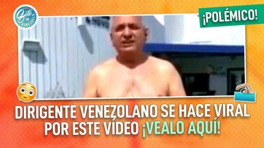 Pablo Medina nada en su piscina por Venezuela