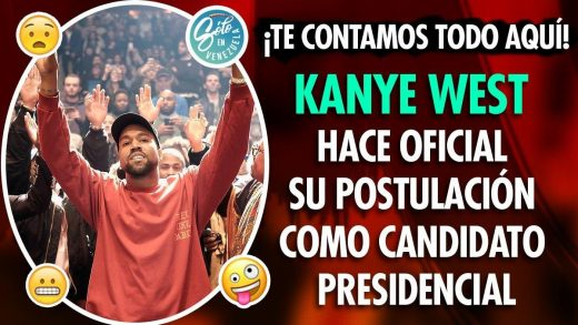 Kanye West se postula para presidente