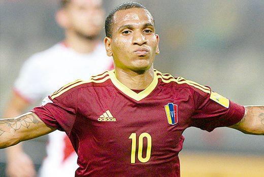futbolistas venezolanos