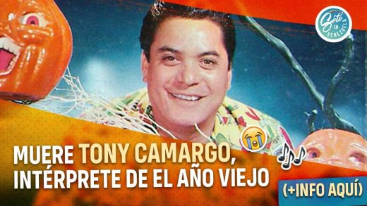Fallece Tony Camargo