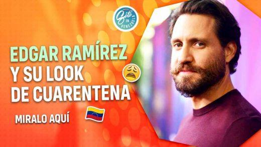 Edgar Ramírez estrena nuevo look