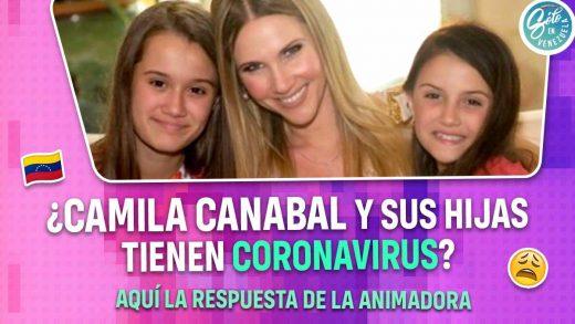 Camila Canabal tiene coronavirus