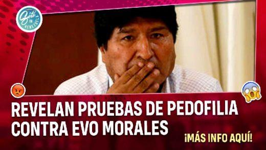 revelan pruebas de pedofilia contra expresidente de bolivia