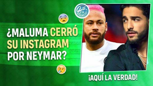 Maluma cerró su Instagram