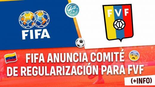 FIFA anuncia comité de regularización para FVF