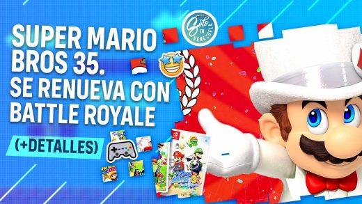 Super Mario Bros anuncia su primer battle royale