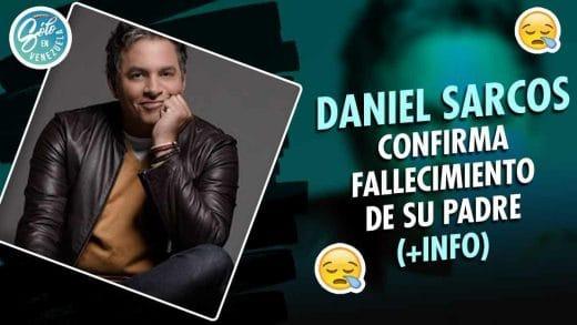 Fallece el padre de Daniel Sarcos