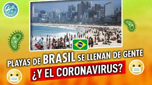 playas de brasil coronavirus
