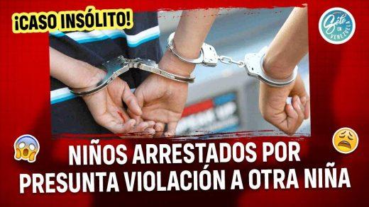 Jóvenes son arrestados por abusar de niña