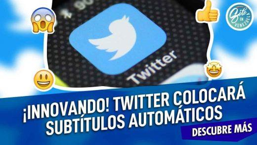 Twitter tendrá subtítulos automáticos