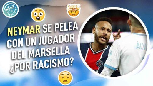 neymar se pelea contra alvaro gonzalez