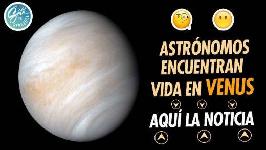 astronomos descubren vida en venus