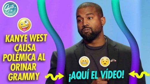 Kanye West orina un Grammy