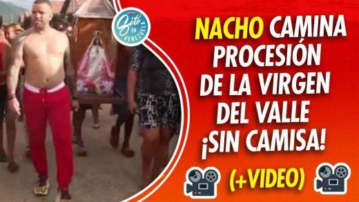 Nacho es criticado por caminar sin camisa