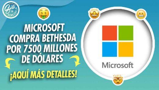 microsoft anuncia la compra de bethesda
