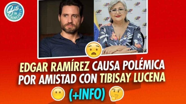 Edgar Ramírez y Tibisay Lucena