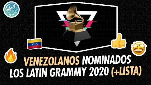 venezolanos nominados al grammy latino 2020
