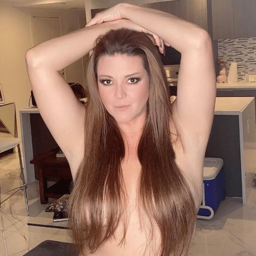 Alicia Machado publica foto sin ropa
