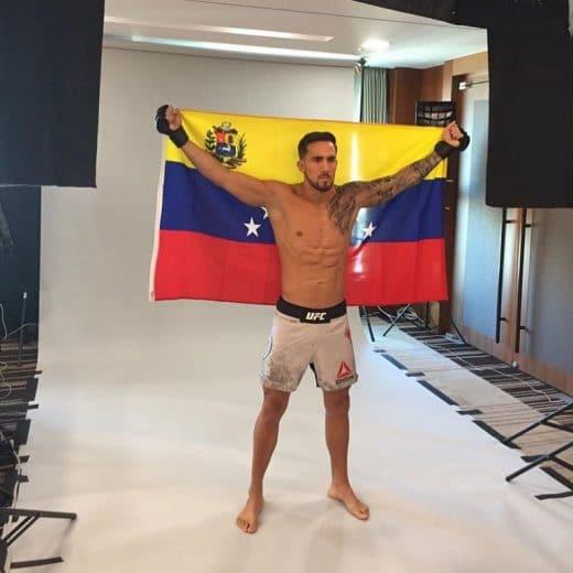 venezolanos en la UFC