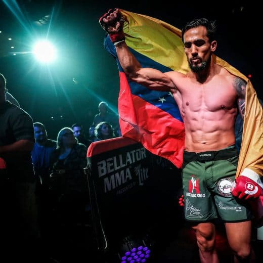 famosos venezolanos de la MMA