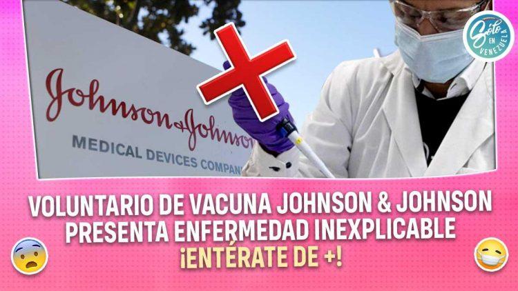 Johnson & Johnson suspende ensayos de vacuna