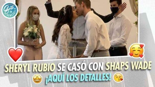 boda de Sheryl Rubio