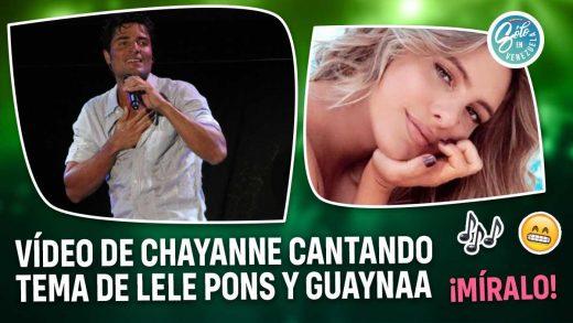 Chayanne canta canción de Lele Pons