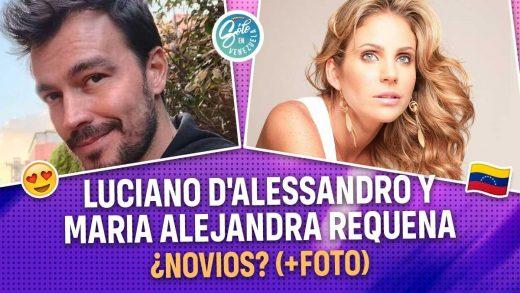 Luciano D'Alessandro y Maria Alejandra Requena son novios