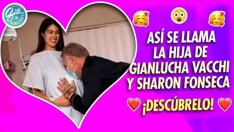Nació la hija de Gianluca Vacchi y Sharon Fonseca