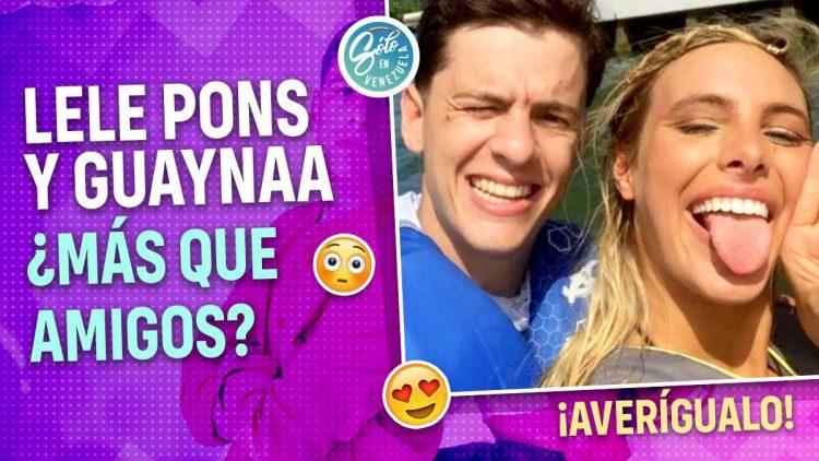 Lele Pons y Guaynaa son novios