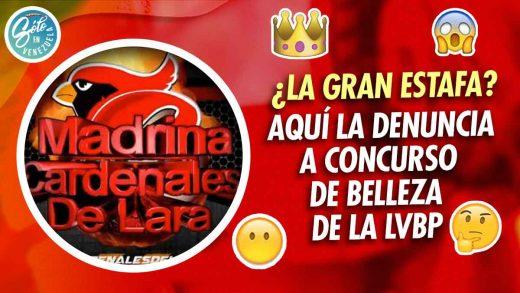 fotografos denuncian al concurso de la madrina del cardenales de lara
