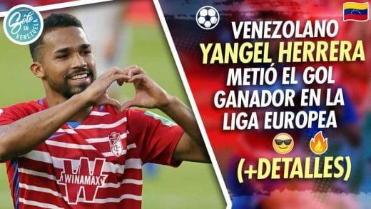 Futbolista venezolano Yangel Herrera arrasó en Liga Europea