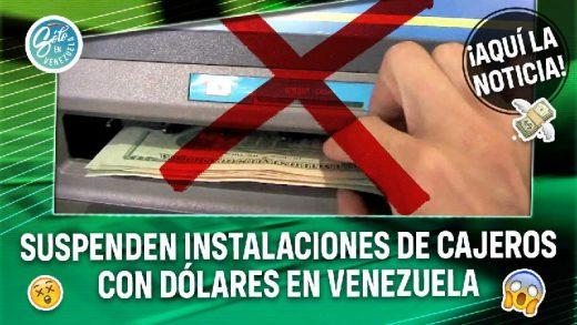 cajeros con dolares en venezuela