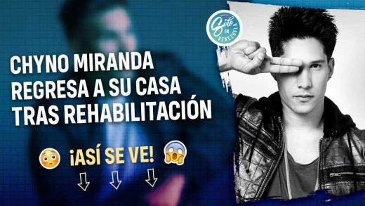Chyno Miranda revela que estuvo en rehabilitación