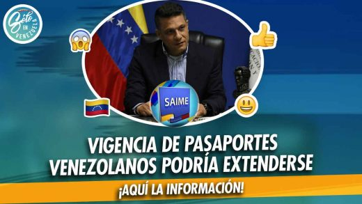 Pasaporte venezolano tendrá vigencia por 10 años
