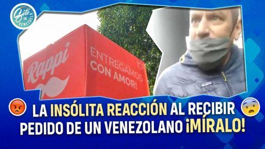 Peruano insulta a repartidor venezolano