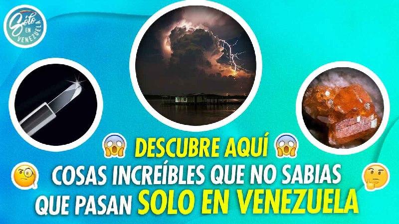 cosas increibles que pasan solo en venezuela