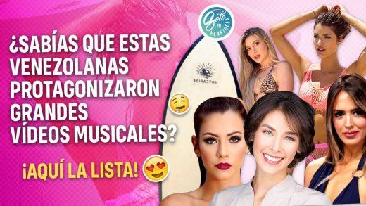 modelos venezolanas en vídeos musicales