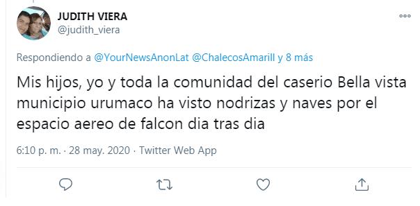 ovnis en falcon venezuela