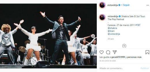 Víctor Drija gira de Shakira
