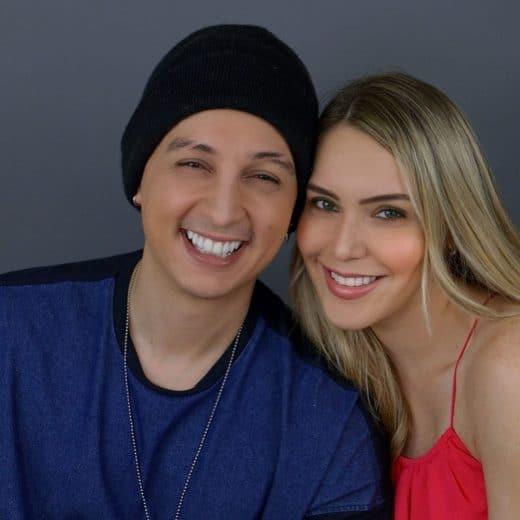Blanca Aljibes y su esposo