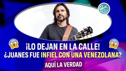 Juanes tuvo una amante venezolana