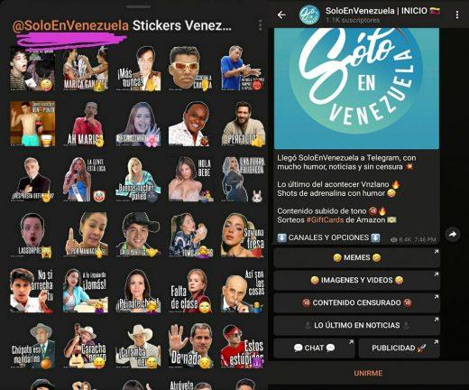 Stickers personalizados para Telegram