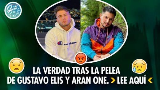 Pelea entre Gustavo Elis y Aran One