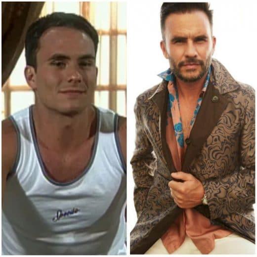 Juan Pablo Raba antes y después