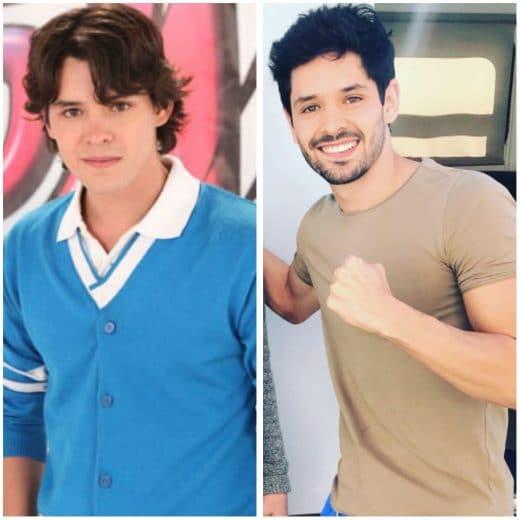 antes y después del elenco de ISA TKM