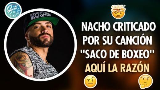 Nacho y saco de boxeo