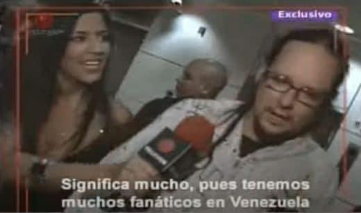 bandas de rock que vinieron a Venezuela