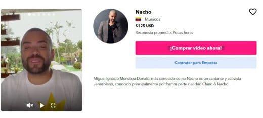 escándalos de Nacho