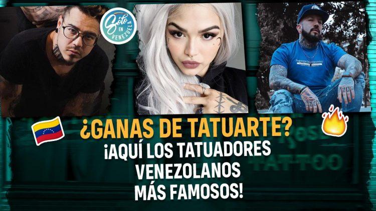 Tatuadores venezolanos reconocidos